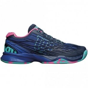 Kaos Womens All Court Tennis Shoes Blue Iris