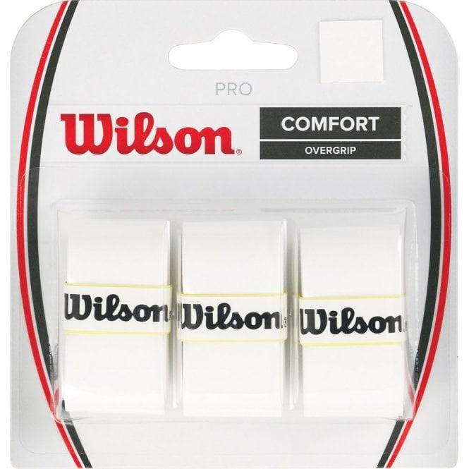 Wilson Pro Overgrips x 3 grips White