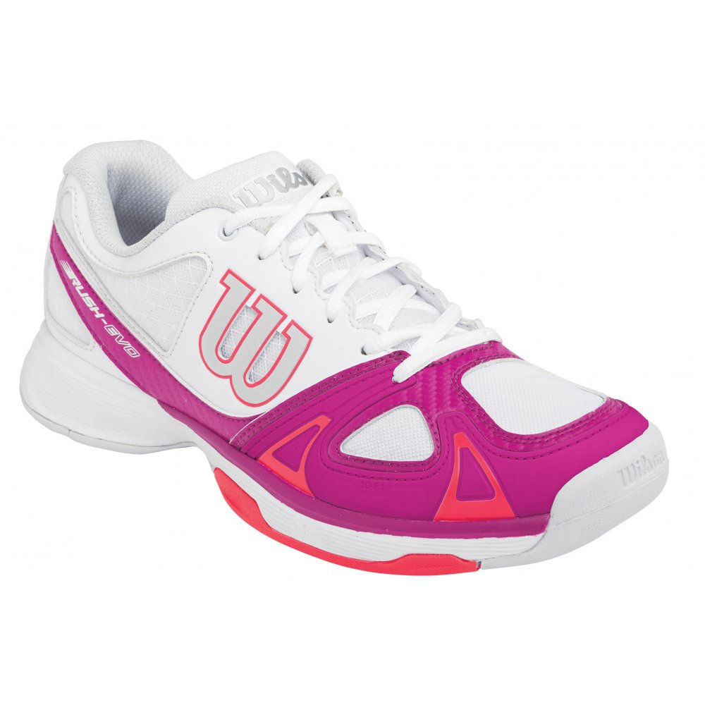 6f643173cc9 Wilson Rush Evo Womens All Court Tennis Shoes