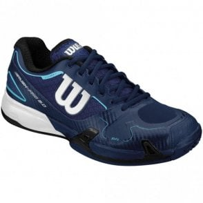 Rush Pro 2.0 Mens Tennis Shoes Navy Blue
