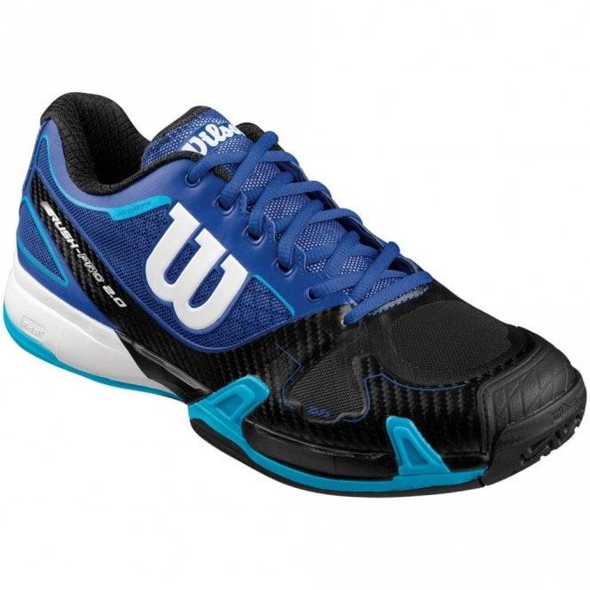 Wilson Rush Pro 2.0 Mens Tennis Shoes Suba Blue 2016