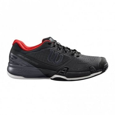 Rush Pro 2.5 2019 Mens Tennis Shoes Black/Ebony/Red