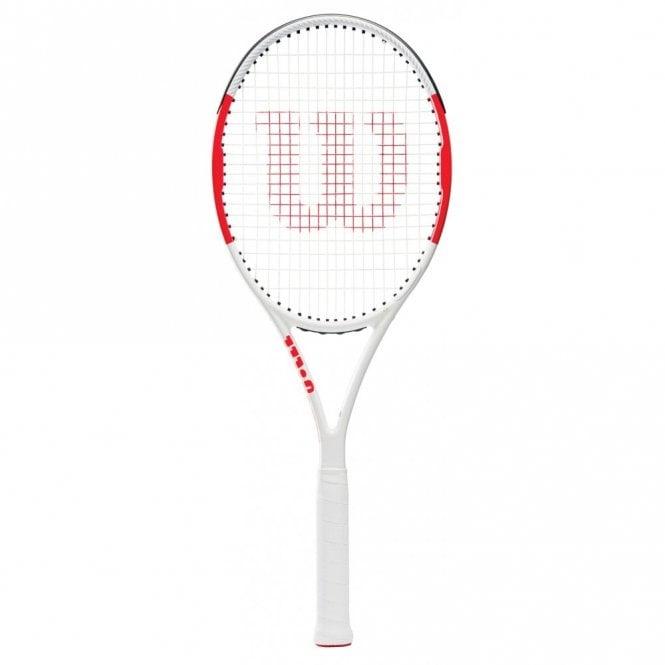 Wilson Six.One 95 BLX Tennis Racket 2019 White/Red