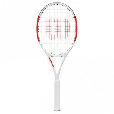 Six.One 95 BLX Tennis Racket 2019 White/Red