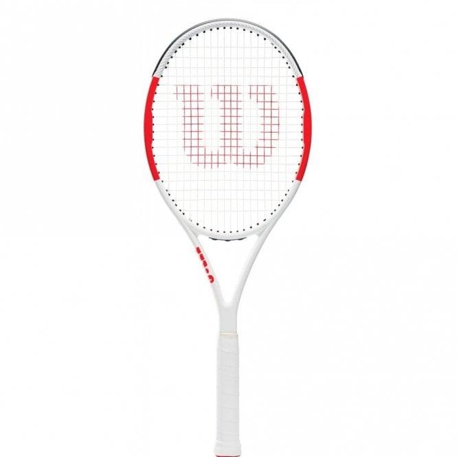 Wilson Six.One Team 95 Tennis Racket 2019 White/Red