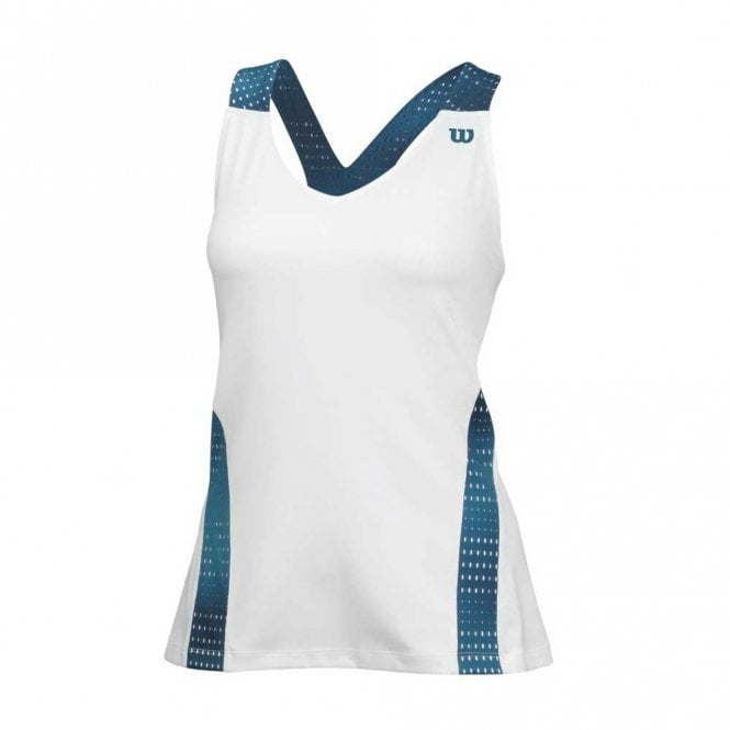 Wilson Womens Colour Flight Strappy Tank - Ultramarine