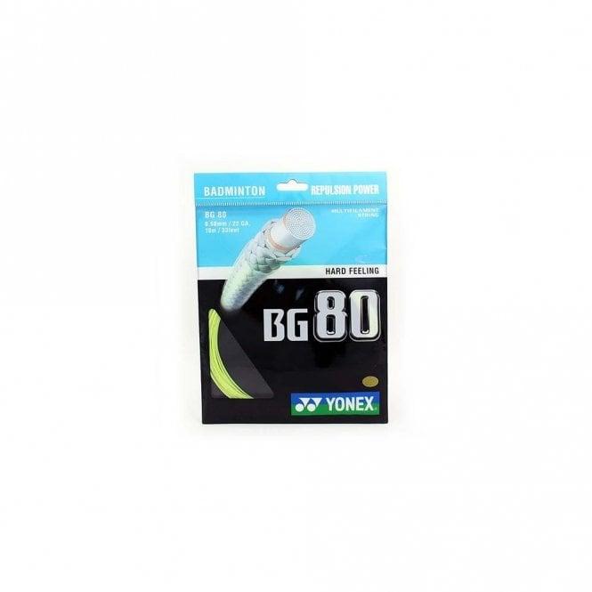 Yonex BG80 Badminton String 10m Set