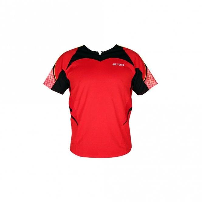 Yonex TW1560 VC Mens Badminton Zipped T-Shirt