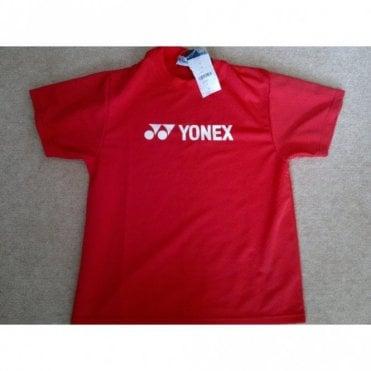 W-7711E Mens Badminton Round Neck T-Shirt